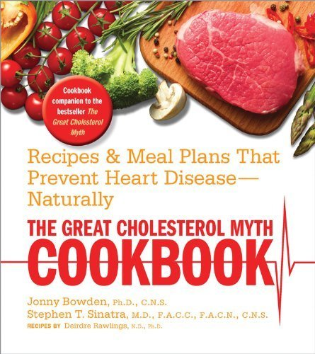 Great Cholesterol Myth Cookbook Disease Naturally product image