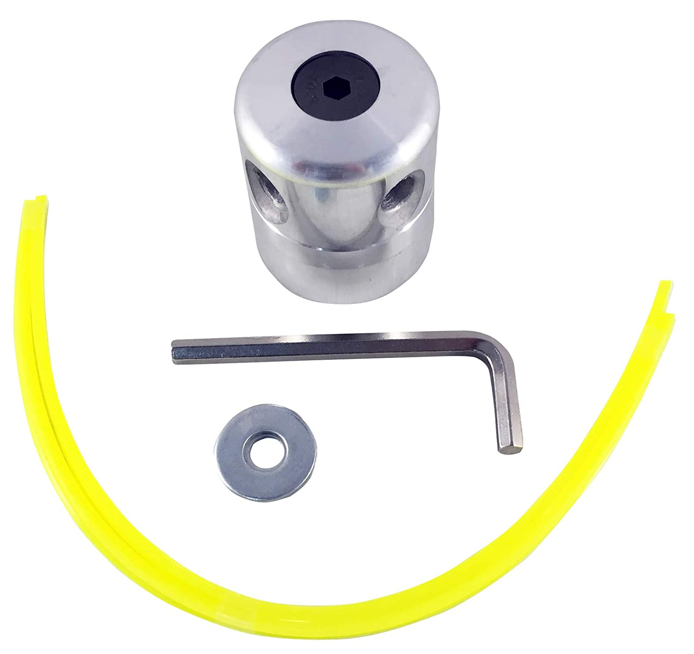 Riegolux 107681 Cabezal Aluminio 4 Hilos, hasta 4 mm: Amazon.es ...