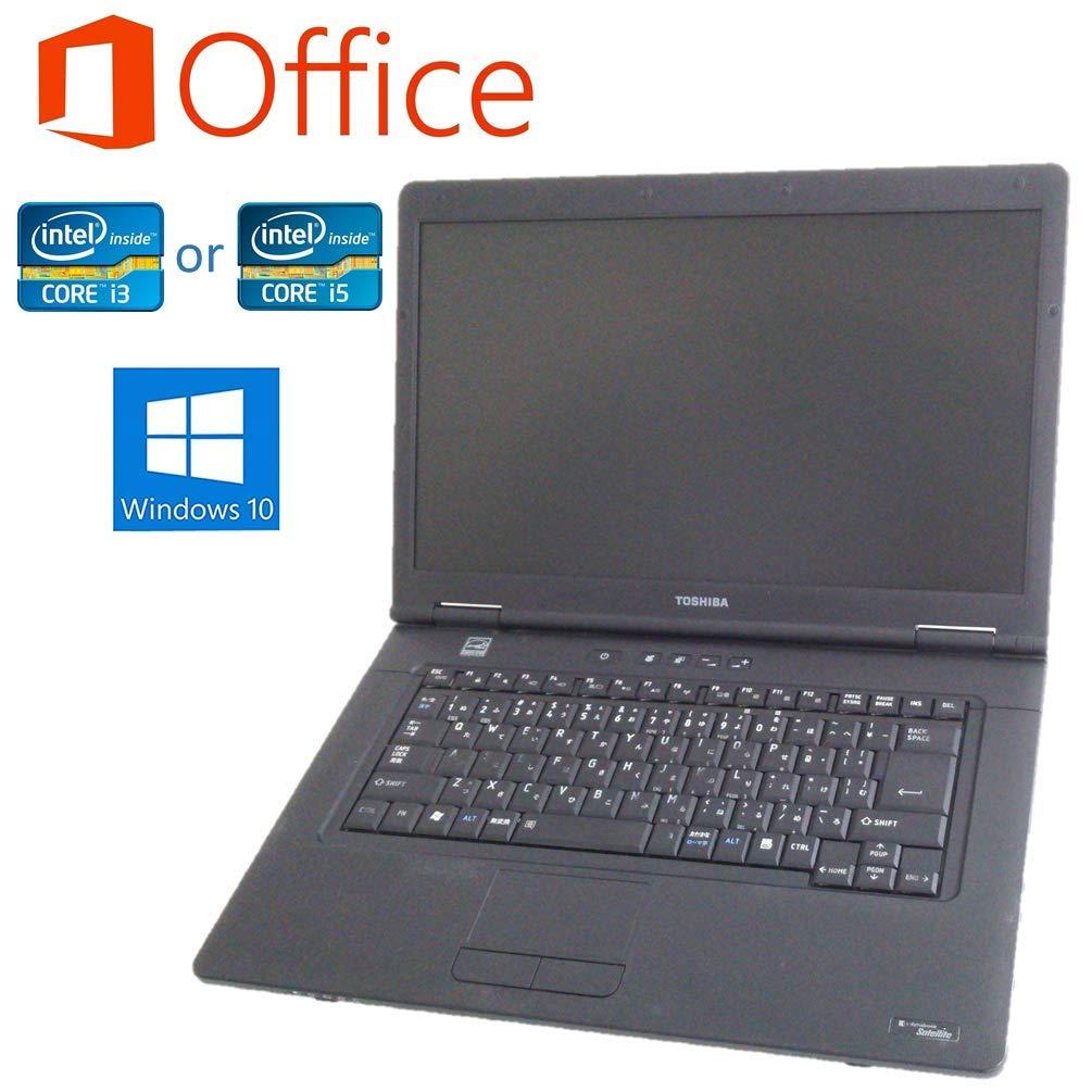 【MicrosoftOffice 2016搭載】【Windows10搭載】TOSHIBA Dynabook シリーズ/Core i3 搭載/大容量メモリー8GB/新品SSD240GB/DVDドライブ/無線LAN/15.6インチ大画面液晶/中古ノートパソコン(Core i3+新品SSD240GB) CPU:Core i3 搭載+SSD:新品240GB  B07S4LG99M