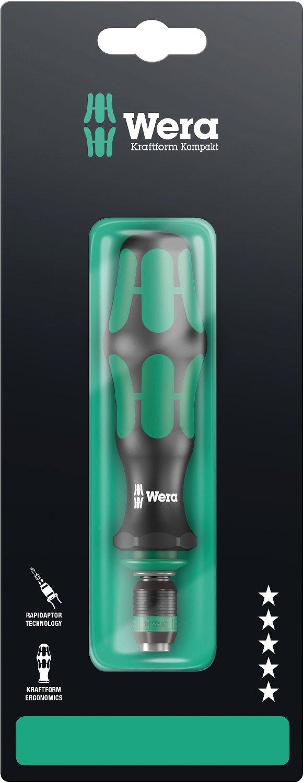 Wera 05073541001 Kraftform 817 R SB Hexagon Premium Plus Bitholding Screwdriver Bayonet Blade 133mm Blade Length 1//4 Head Wera Tools 1//4 Head Rapidator Quick-Release Chuck