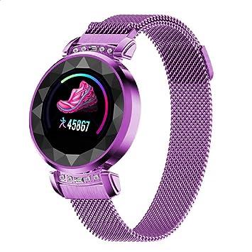 TDOR Reloj Inteligente Mujer Redondo Llamadas Whatsapp ...