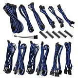 BitFenix ALCHEMY 2.0 PSU CABLE KIT for Corsair Power Supply AXi/HXi,RM/Rmi/RMx/CS-M/TX-M/CX-M, CSR-SERIES - Black/Blue (BFX-ALC-CSRKB-RP)