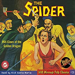 Spider #64, January 1939