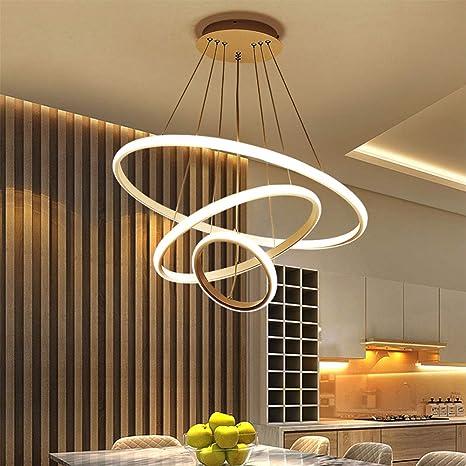 LED 12 Watt Pendel Leuchte Ringe Dekoration Wohnzimmer Hänge Leuchte Beleuchtung