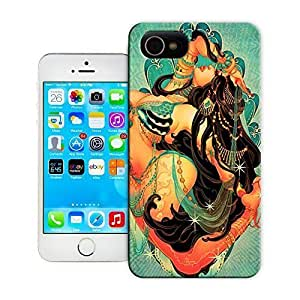 TYH - Unique Phone Case Personalities pattern Japanese artist One Nao creates a beautiful Arabian belly dancer in this pin up girl design Hard Cover for iPhone 5/5s cases-buythecase ending phone case