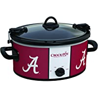 Crock-Pot Louisiana State Tigers Collegiate 6-Quart Cook & Carry Slow Cooker