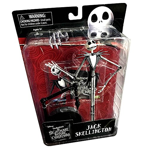 Tim Burton's The Nightmare Before Christmas Jack Skellington Pumpkin King Figure with Stand by Diamond Select Toys