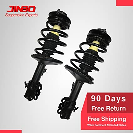 For 97-01 Toyota Camry 99-03 Solara Rear Complete Strut /& Coil Spring Pair