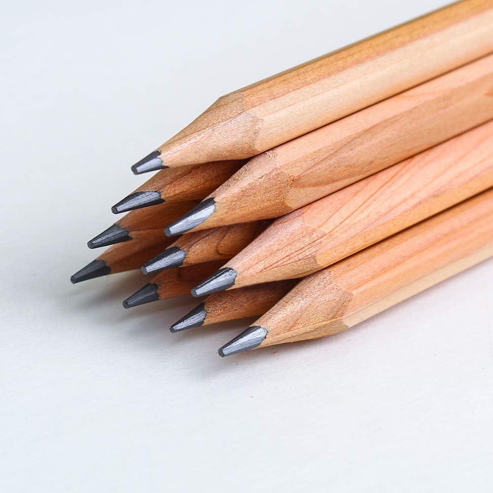 Lápices de madera personalizados Bulk Fun 2 hb. 12un