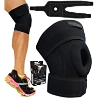 Physix Gear Knee Braces for Women & Men - Best Patella Stabilizing Knee Brace For Arthritis Pain and Support, Knee Support Brace - Top Adjustable Knee Brace for Women & Men Knee Braces for Knee Pain