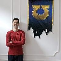 Official Warhammer 40k ULTRAMARINES Logo Blue Battle Flag Banner [50