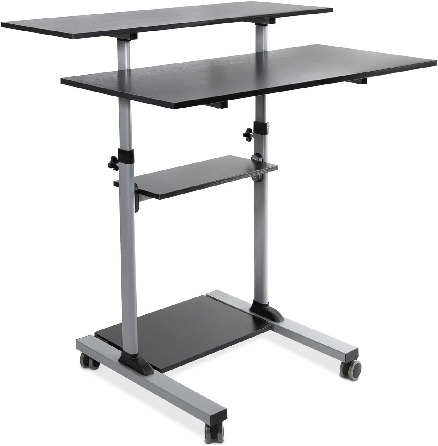 """Mount-It! Mobile Standing Desk 