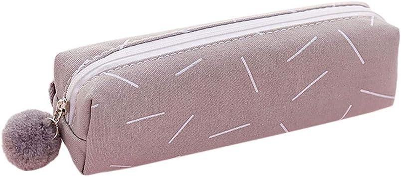 OPALLE - Estuche portalápices para lápices, Estuche portalápices, sin lápiz, Muy útil para la Escuela: Amazon.es: Equipaje