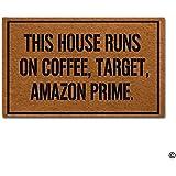 Amazon Com Honeybee Flower Design Welcome Doormat