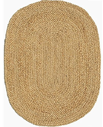 Acura Homes Natural Jute Collection Area Rug 6' x 9' Feet...