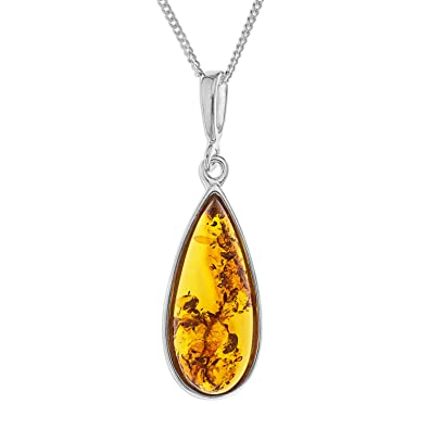 baltic real drop from large honeyamberandsterlingsilverlargependantfrompoland poland natural style b pendant amber