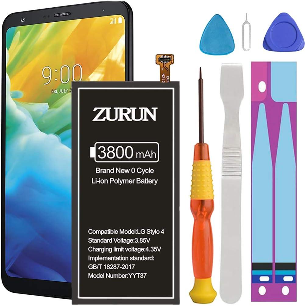 Bateria ZURUN 3800mAh para LG Stylo 4 Q710 Q710AL Q710MS