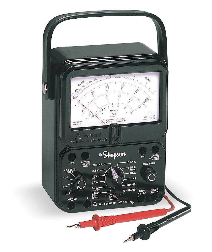 1000V 20M Ohms 10A Analog Multimeter