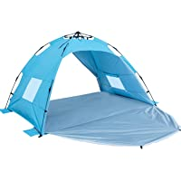 Sun-shelter 2 to 3 Persons Portable Beach Tent (Navy)