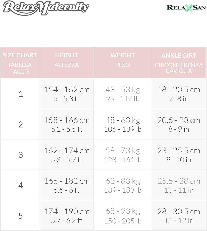 Umstands-Strumpfhose 70 den mit stufenweiser Kompression 12-17 mmHg RelaxMaternity 791