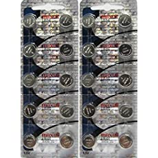 Maxell LR44 Batteries 20 Pack
