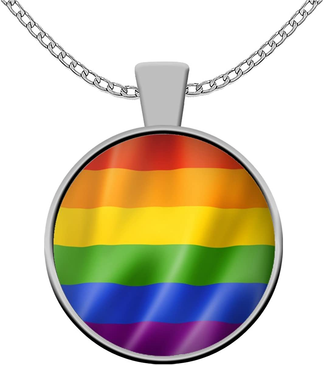 LGBTQIA Neon necklace Pride accessory LGBT Festival necklace Ally Rainbow flag Pride flag Rainbow necklace Pride necklace Gay flag