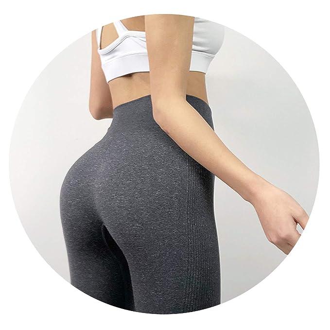 015b3d5cbde5c2 Charm temptation Women High Elastic Fitness Sport Leggings Yoga Pants Slim  Running Tights Sportswear,XS
