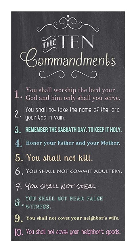 where is the ten commandments now