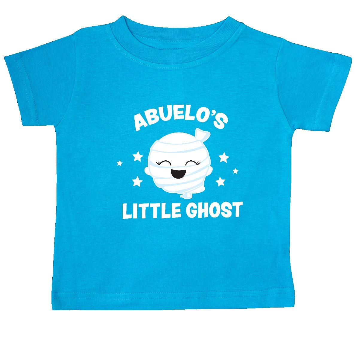 inktastic Cute Abuelos Little Ghost with Stars Baby T-Shirt