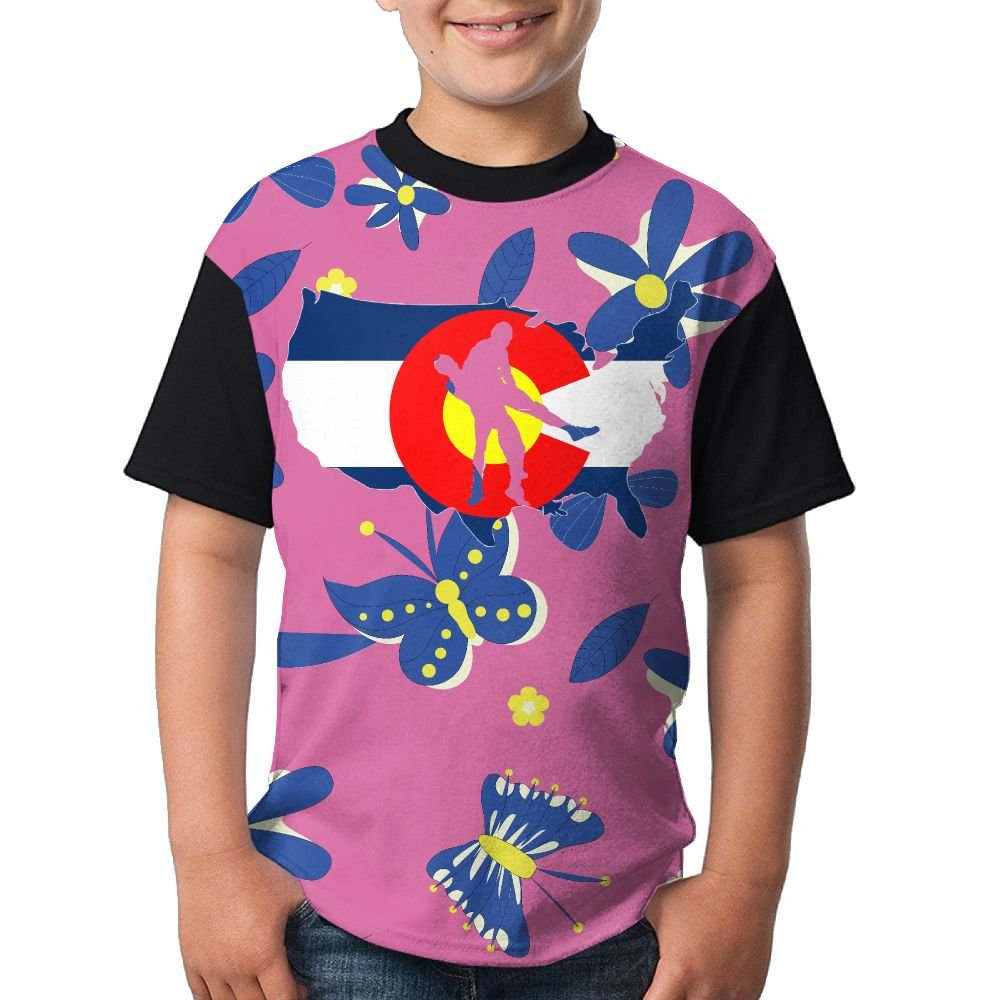 D6de Shirt Colorado Wrestling Girls Teen Boys Fashion 3D Printed Short Sleeved T-Shirt Tees