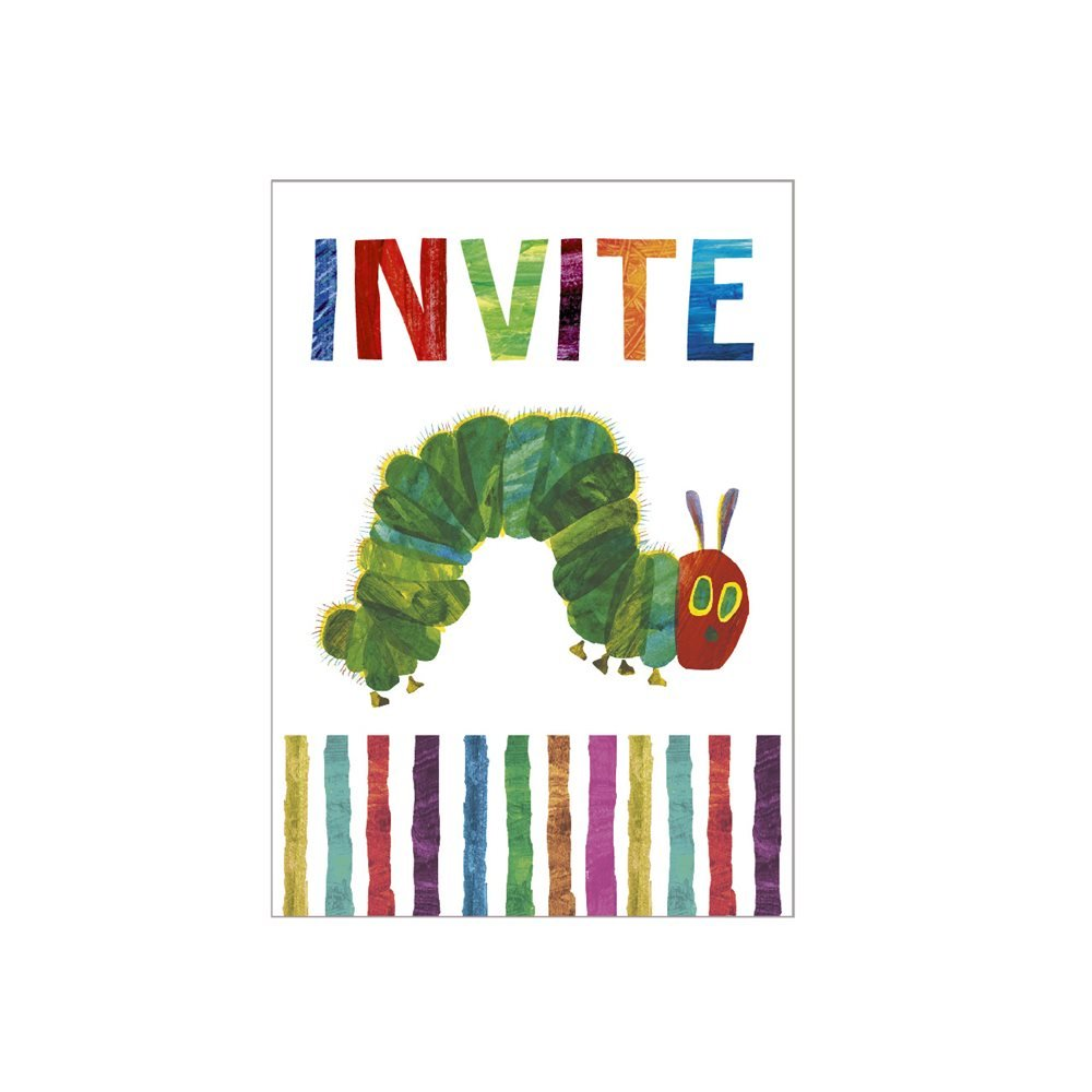 Hungry Caterpillar Invites: Amazon.co.uk: Toys & Games