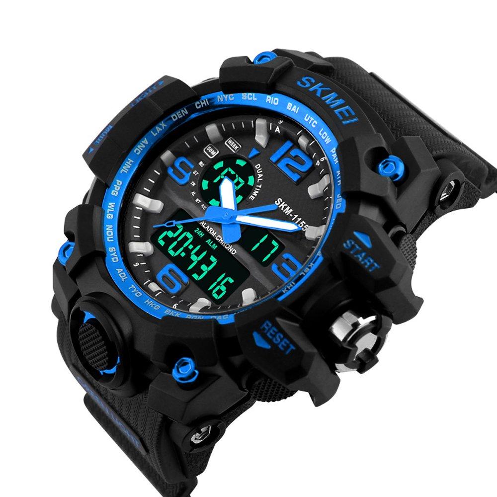Vogue Lady Hombre Sport Reloj de pulsera analógico digital ...