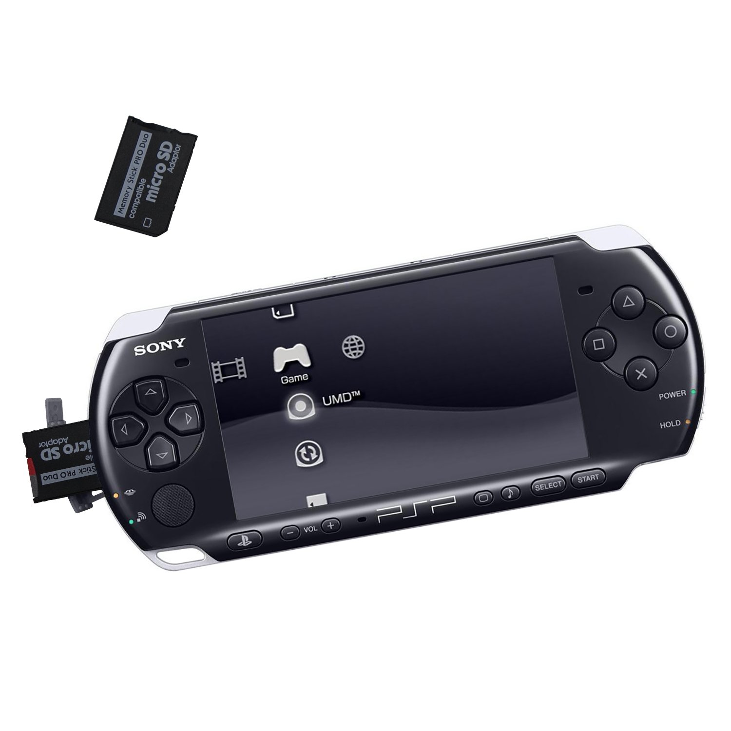 PSP Memory Stick Adapter, Funturbo Micro SD to Memory Stick PRO Duo MagicGate Card for Sony Playstation Portable, Camera, Handycam