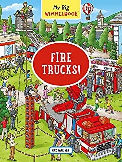 Book Cover: My Big Wimmelbook―Fire Trucks!