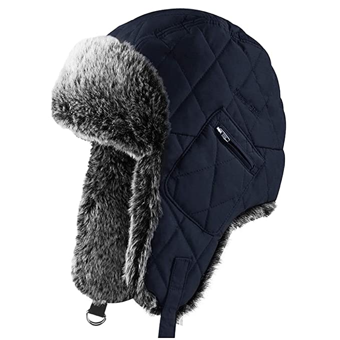 OLIS, Sombrero De Invierno Gorra De Aviador Caliente Esquí ...