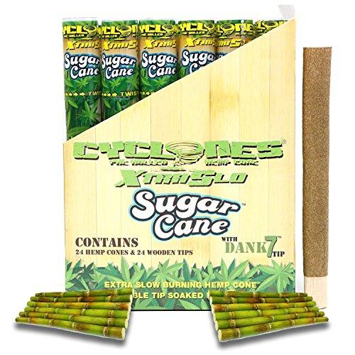 Cyclones Sugar Cane XTRASLOW Pre-Rolled Flavored