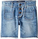 Lucky Brand Kids Girl's Vera Long Shorts (Little Kids) Ryder Wash 6X