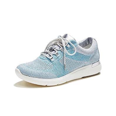 Femme chaussures loisirs chaussures Sneakers chaussures de sport bleu 41 KUxXwo9Qd