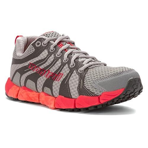 160fc0181994 Montrail Fluidflex ST Shoe - Womens Dove   Red Hibiscus 5.5