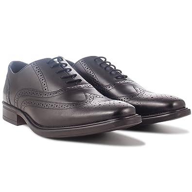 0fc7e618091 Redfoot de qualité de Fabrication Britannique en Cuir pour Homme brûlé Noir  Oxford Brogue Chaussures RRP