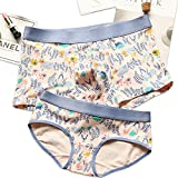 THSISSUE Couples Matching Underwear, Modal Couples Briefs for Boy/Girl Friend.