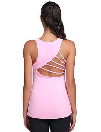 78d33b1b09d6 JIMMY DESIGN Damen Sexy Tank Top Funktionsshirt Pink - L  Amazon.de ...