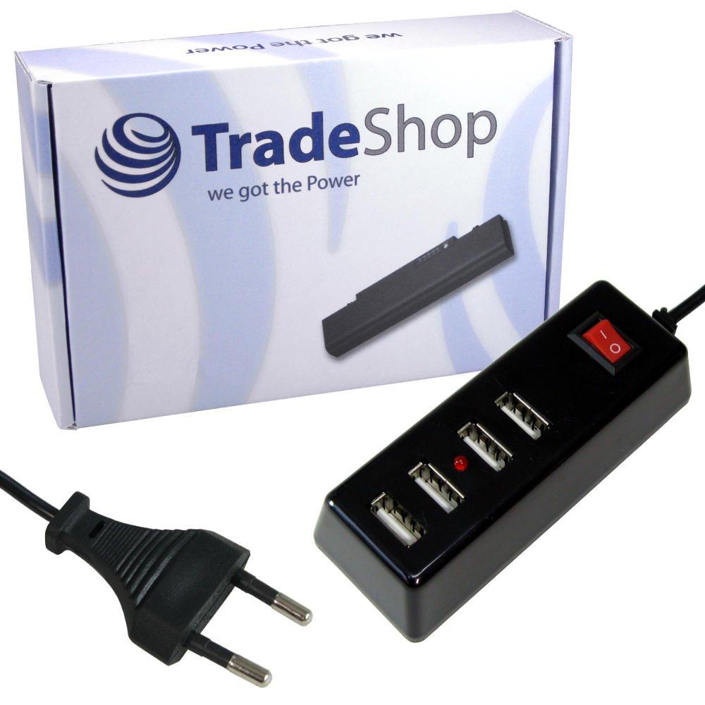 4-fach USB Mehrfachstecker Steckerleiste Universal: Amazon.de ...