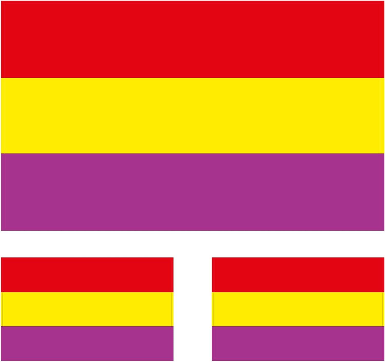Custom Vinyl Bandera de España Civil 2 nd República Española 4