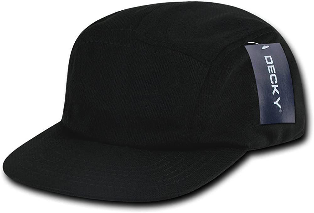 DECKY Performance Mesh Racer Cap, Black : Clothing