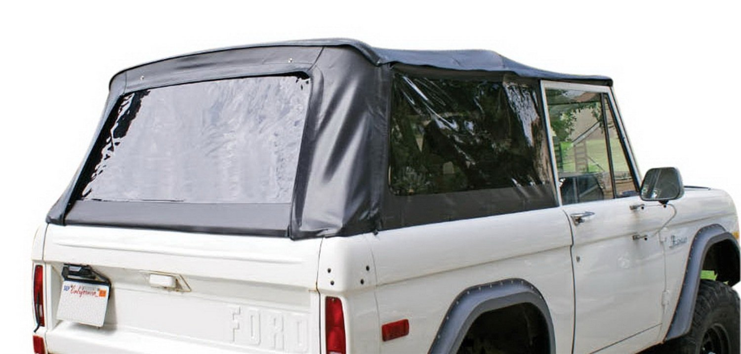 Rampage Products 98401 Complete Top Frame Hardware 1980 Ford Bronco For 1966 1977 Black Diamond W Tinted Windows Automotive