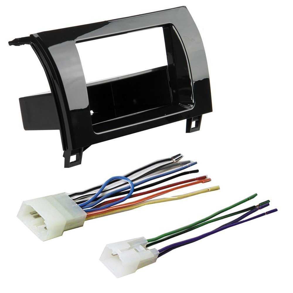 Amazon.com: CAR Radio Stereo CD Player Dash Install MOUNTING KIT Harness  Toyota Tundra Sequoia: Car Electronics