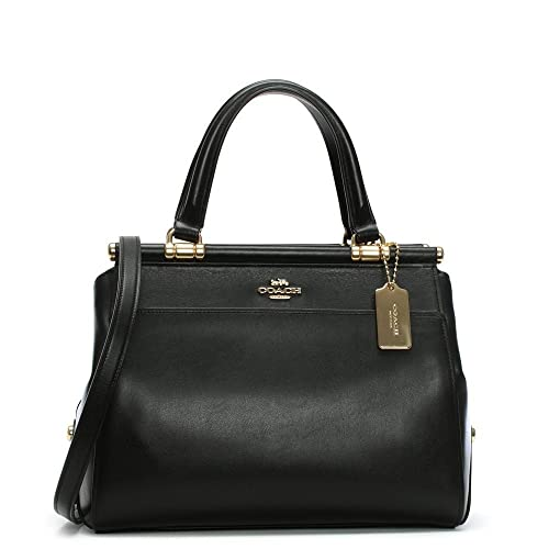 ... get coach grace black leather satchel bag black leather cd563 0361d 529a946414095