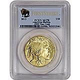2015 American Gold Buffalo (1 oz) $50 MS70 - First Strike - Buffalo Label PCGS