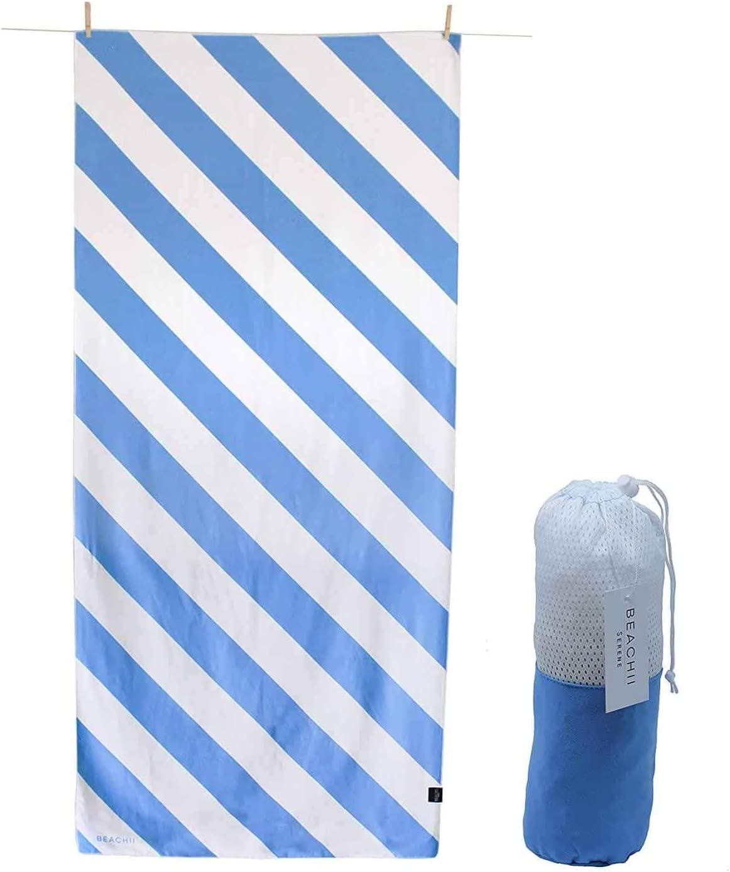 Large for Adults Men Women Beachii /™ Microfibre BEACH Towels For Travel /& Swim